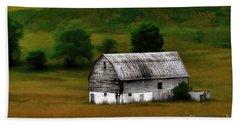 Old Barn Near Buckhannon Beach Sheet by Dan Friend