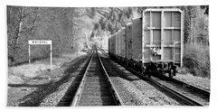 Old Bristol Rail In Ellensburg Beach Sheet