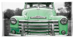 Old Chevy Pickup Truck Beach Towel