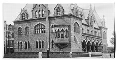Old Customs House And Post Office Evansville Indiana 1915 Beach Towel