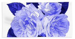 Beach Towel featuring the photograph Old Fashioned Roses by Jane McIlroy