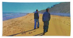 Old Friends Long Shadows Beach Sheet