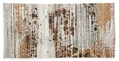 Old Painted Wood Abstract No.2 Beach Towel