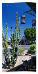 Old Town Cactus Beach Towel