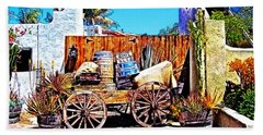 Old Town San Diego Beach Towel