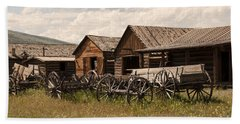 Old West Wyoming  Beach Sheet