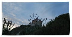 Old Wind Mill 1830 Beach Towel by George Katechis