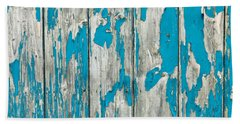 Old Wood Beach Towel