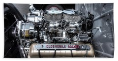 Olds Rocket Beach Towel