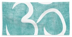 Om Sky Beach Towel