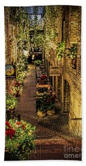 Omaha's Old Market Passageway Beach Towel