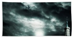 Ominous Skies Beach Towel