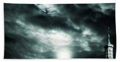 Ominous Skies Beach Sheet