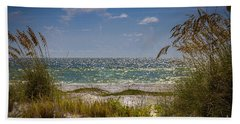 On A Clear Day Beach Sheet by Marvin Spates