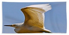 On Angel's Wings Beach Towel by Gary Holmes