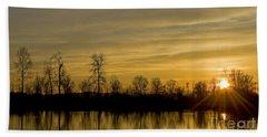 On Golden Pond Beach Sheet