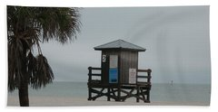 No Lifeguard On Duty Beach Towel by Christiane Schulze Art And Photography