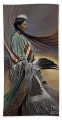On Sacred Ground Series I Beach Towel