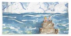 On The Dock Beach Sheet