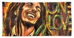 Bob Marley - One Love Beach Towel