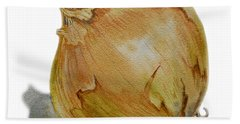 Onion Beach Towel by Irina Sztukowski
