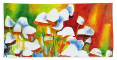 Opposites Attract Beach Towel by Kathy Braud