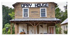 Beach Towel featuring the photograph Opry House - Square by Gordon Elwell