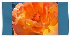 Orange Delight -  Images From The Garden Beach Towel by Brooks Garten Hauschild