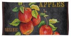 Orchard Fresh Apples-jp2638 Beach Towel