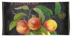 Orchard Fresh Peaches-jp2640 Beach Towel