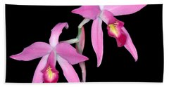 Orchid 1 Beach Towel