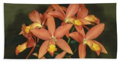 Orchid 3 Beach Towel