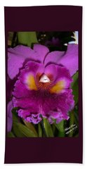 Orchid Flames Beach Sheet