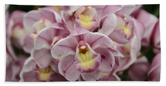 Orchid Bouquet Beach Sheet