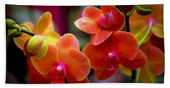 Orchid Melody Beach Towel