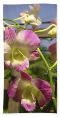 Orchid Splendor Beach Sheet