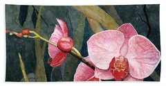 Orchid Trio Beach Sheet