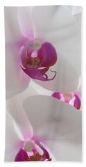 Orchid Trio Beach Towel