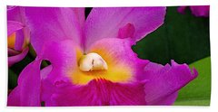 Orchid Variations 1 Beach Towel