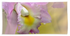 Orchid Whisper Beach Towel