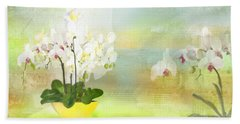 Orchids - Limited Edition 1 Of 10 Beach Towel