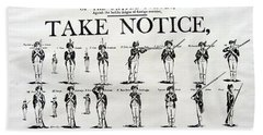 Order Of Battle - Take Notice Brave Men Beach Towel