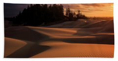 Oregon Dunes Sunset Beach Towel