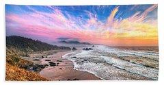 Oregon Sunset Beach Sheet