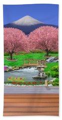 Oriental Splendor Beach Towel by Glenn Holbrook