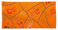 Original Art 3 Beach Towel by Mariusz Czajkowski