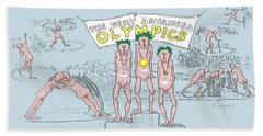 Original Olympics Beach Sheet