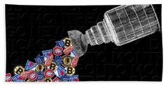 Original Six Stanley Cup 2 Beach Sheet