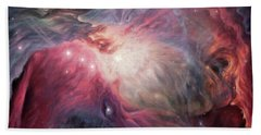 Orion Nebula M42 Beach Towel