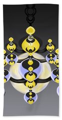 Ornamental Illumination Beach Towel by Christine Fournier